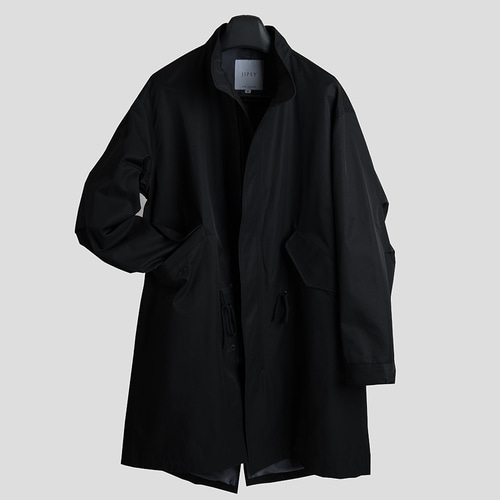 M-51 MINIMAL FISHTAIL PARKA. -black-
